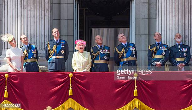 Sophie Countess of Wessex Prince Edward Earl of Wessex Prince William Duke of Cambridge Queen Elizabeth II Prince Philip The Duke of Edinburgh and...