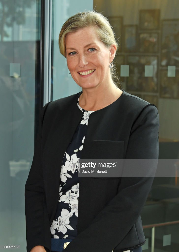 Sophie, Countess of Wessex, representing Brainwave, attends BGC Charity Day on September 11, 2017 in London, United Kingdom.