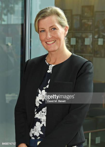 Sophie Countess of Wessex representing Brainwave attends BGC Charity Day on September 11 2017 in London United Kingdom