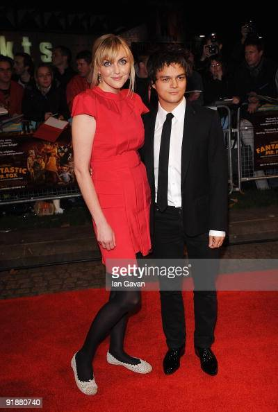 Sophie Dahl and Jamie Cullum attend the World Premiere of Fantastic Mr Fox and the Opening Gala ofThe Times BFI London Film Festival at the Odeon...