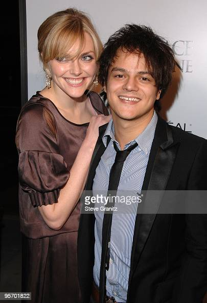 Sophie Dahl and Singer Jamie Cullum arrives for the Los Angeles Premiere of ' Grace Is Gone ' at the Academy of Motion Picture Arts and Sciences on...