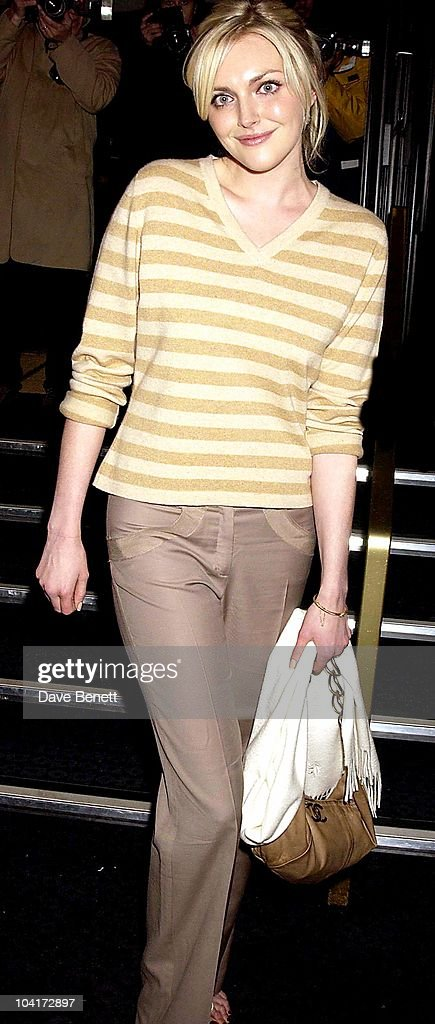 Sophie Dahl (in Her First Movie Role), 'Revengers Tragedy' Screening At The Curzon Cinema In Mayfair, London
