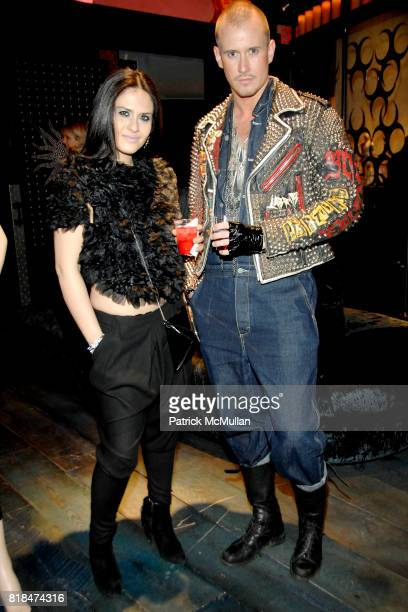 Sophie Daisot and Storm Peterson attend SUSANNE BARTCH and DAVID BARTON host the Launch of REEM at David Barton Gym on January 22 2010 in New York...