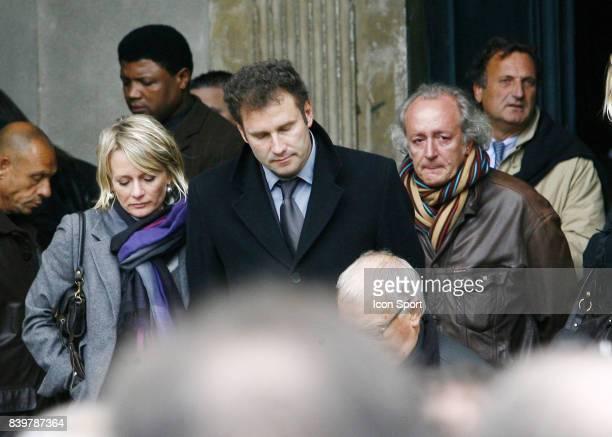 Sophie DAVAN / Pierre SLED / Didier BARBELIVIEN Enterrement de Thierry GILARDI Monfort l ' Amaury