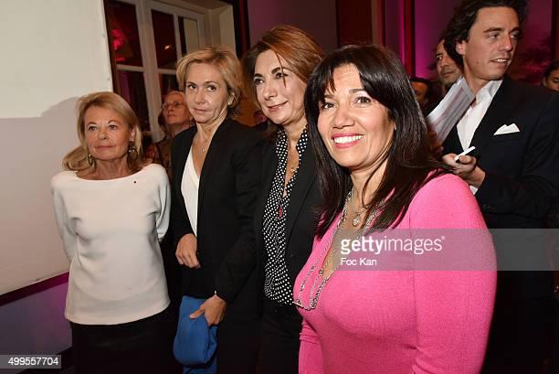 Sophie de Menthon Valerie Pecresse Martine Vassal and Samia Ghali attend the 'Prix de la Femme d'Influence 2015' Award Ceremony on December 1 2015 in...
