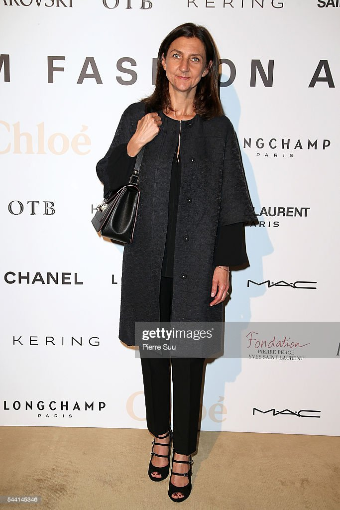 Sophie Delafontaine attends the ANDAM Fashion Award Coktail Party at Ministere de la Culture on July 1, 2016 in Paris, France.