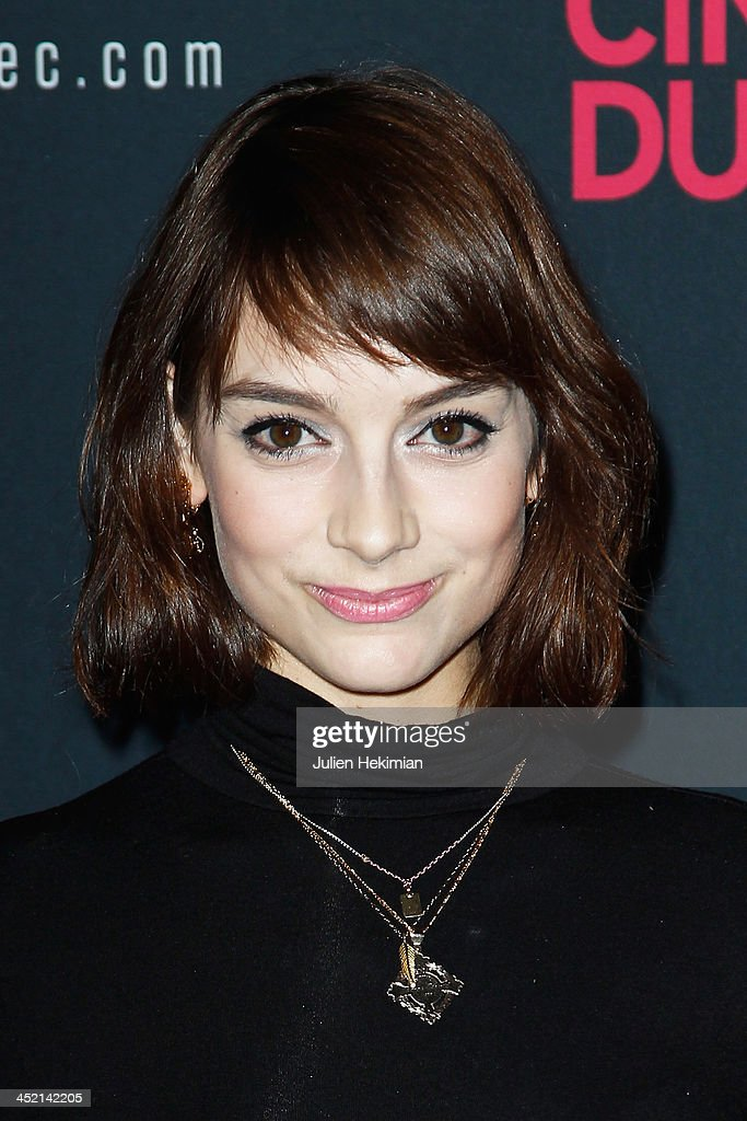<a gi-track='captionPersonalityLinkClicked' href=/galleries/search?phrase=Sophie+Desmarais&family=editorial&specificpeople=7135191 ng-click='$event.stopPropagation()'>Sophie Desmarais</a> attends 'Cinema Du Quebec' Opening Party In Paris at Forum Des Images on November 26, 2013 in Paris, France.