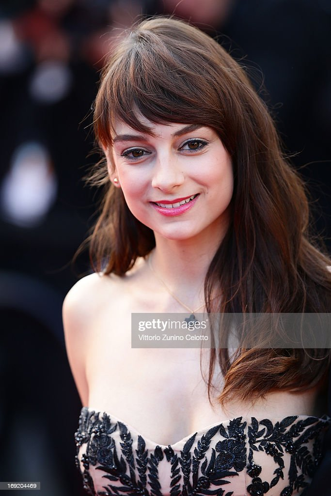 Sophie Desmarais attends the 'Cleopatra' premiere during The 66th Annual Cannes Film Festival at The 60th Anniversary Theatre on May 21, 2013 in Cannes, France.