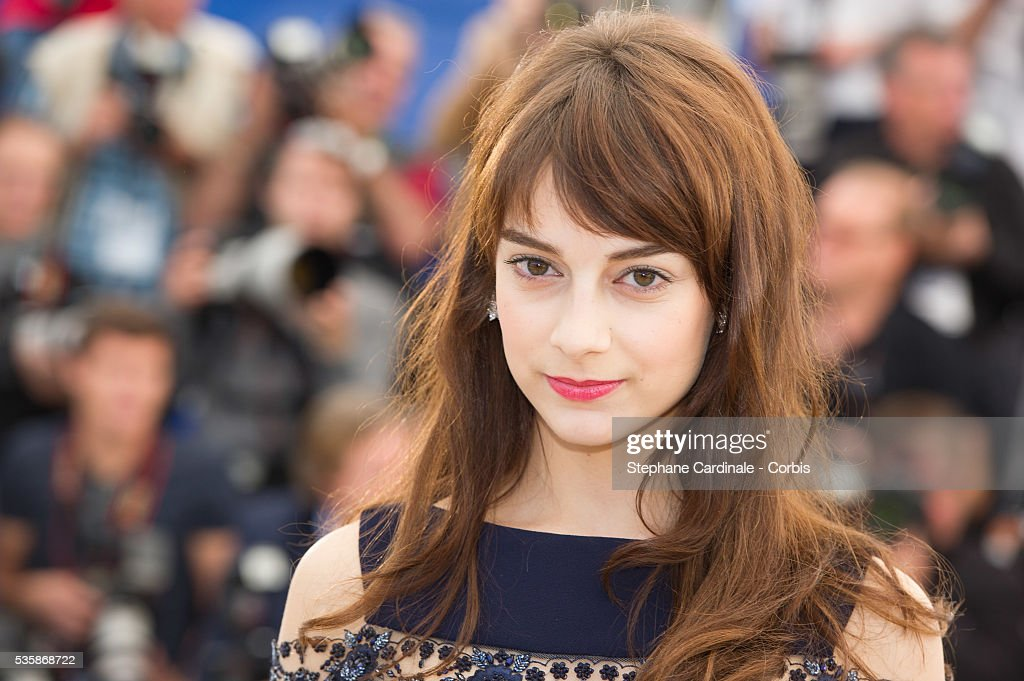Sophie Desmarais attends the 'Sarah Prefere La Course' Photo call during the 66th Cannes International Film Festival
