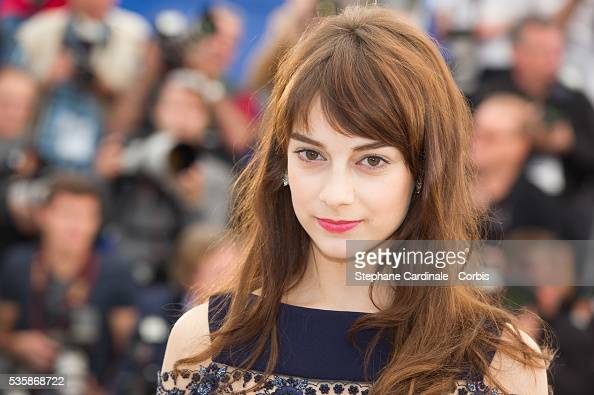 Sophie Desmarais attends the 'Sarah Prefere La Course' Photo call during the 66th Cannes International Film Festival