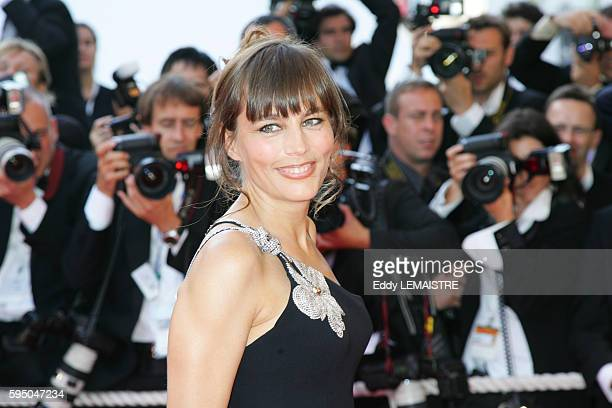 Sophie Duez arrives at the premiere of 'L'Age Des Tenebres' during the 60th Cannes Film Festival