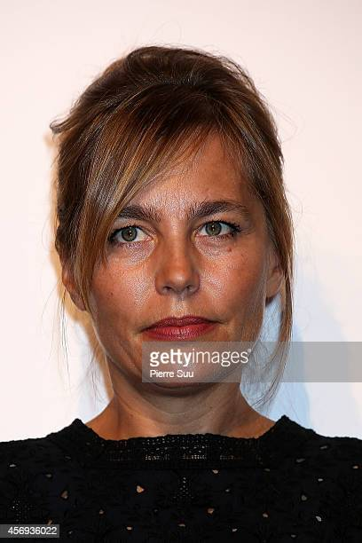 Sophie Duez attends the opening cocktail party of the 25th Dinard film Festival on October 9 2014 in Dinard France