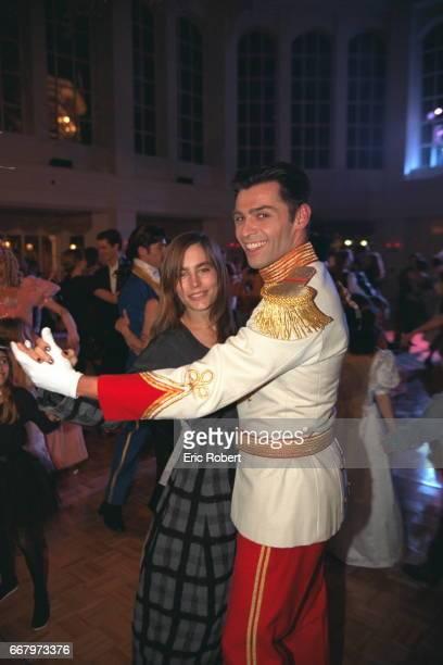 Sophie Duez dances with a prince