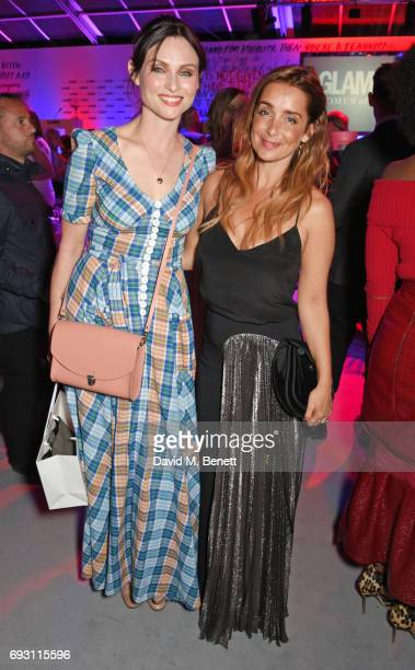 Sophie Ellis Bextor and Louise Redknapp attend the Glamour Women of The Year Awards 2017 in Berkeley Square Gardens on June 6 2017 in London England