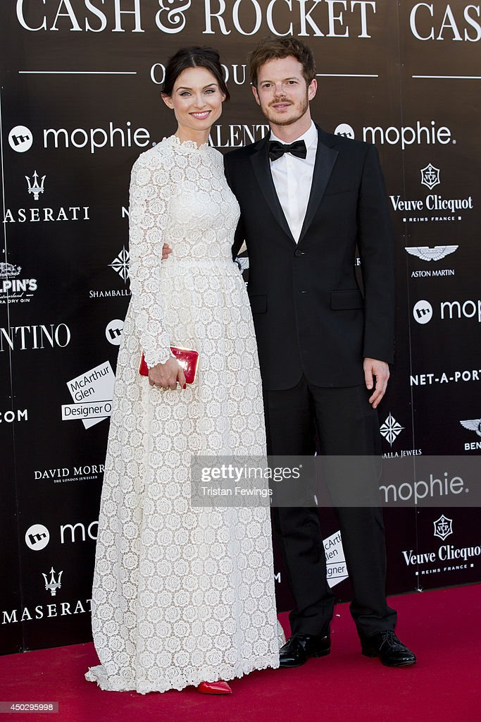 Sophie Ellis Bextor and Richard Jones attend a gala dinner and auction to celebate the end of the Cash & Rocket tour at Natural History Museum on June 8, 2014 in London, England.