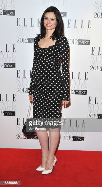 Sophie Ellis Bextor arrives at the ELLE Style Awards at The Savoy Hotel on February 13 2012 in London England