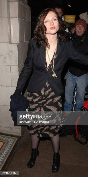 Sophie Ellis Bextor arrives at the Grand Classics VIP screening of 'Annie Hall' at the Electric Cinema in Notting Hill west London Monday 12 December...