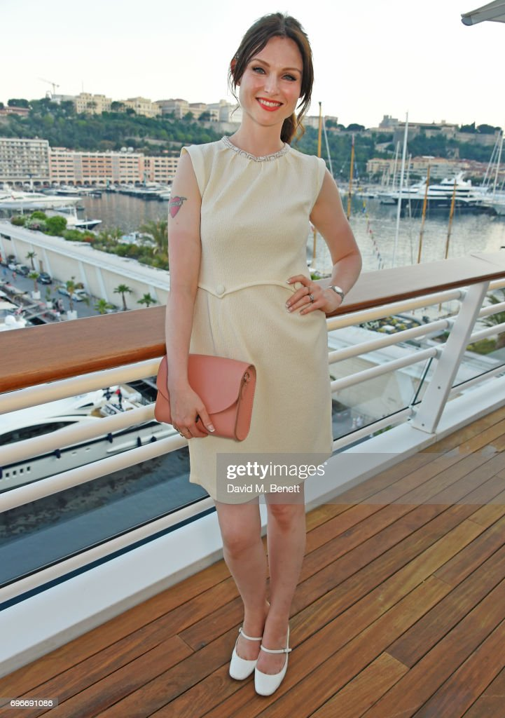 Sophie Ellis Bextor attends a charity gala evening and performance of the play 'A Life-Long Pas' in honour of Rudolf Nureyev and Dame Margot Fonteyn, held by Club Eclectique & It's founders Anna Nasbina & Yulia Polvida, at The Yacht Club De Monaco on June 16, 2017 in Monaco, Monaco.