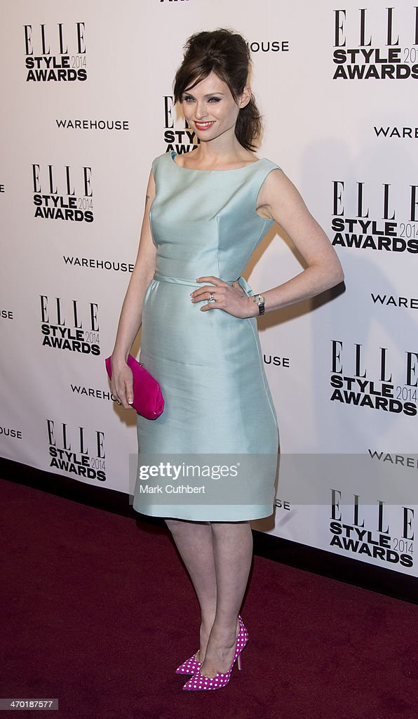 Sophie Ellis Bextor attends the Elle Style Awards 2014 at one Embankment on February 18, 2014 in London, England.