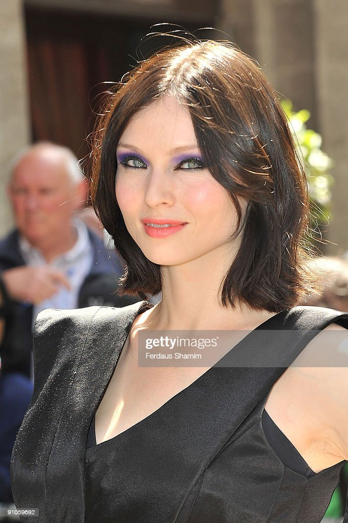 Sophie Ellis Bextor attends the Ivor Novello Awards at Grosvenor House on May 21 2009 in London England