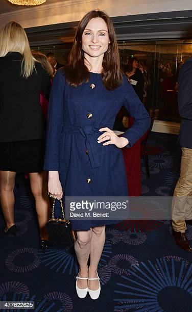 Sophie Ellis Bextor attends the TRIC Television and Radio Industries Club Awards at the Grosvenor House Hotel on 11 2014 in London England