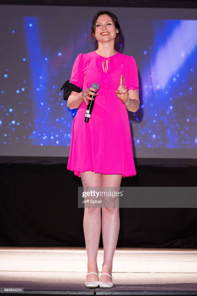 Sophie Ellis Bextor performs at the National Youth Theatre's 'A Night for Life' at Park Lane Hotel on June 8, 2017 in London, England.