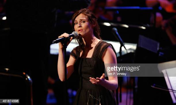Sophie Ellis Bextor performs at 'Tim Rice A Life In Song' at the Royal Festival Hall on July 8 2014 in London England