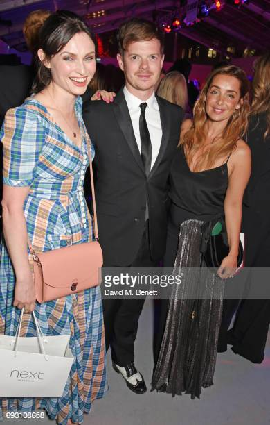 Sophie Ellis Bextor Richard Jones and Louise Redknapp attend the Glamour Women of The Year Awards 2017 in Berkeley Square Gardens on June 6 2017 in...