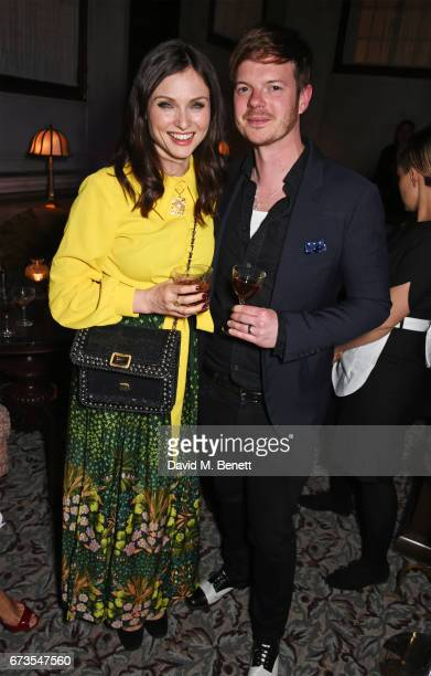 Sophie EllisBextor and Richard Jones attend the launch of The Ned London on April 26 2017 in London England