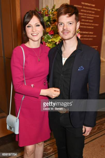 Sophie EllisBextor and Richard Jones attend the Portrait Gala 2017 sponsored by William Son at the National Portrait Gallery on March 28 2017 in...