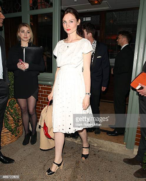Sophie EllisBextor attending The Ivy Chelsea Garden Launch Party on April 14 2015 in London England
