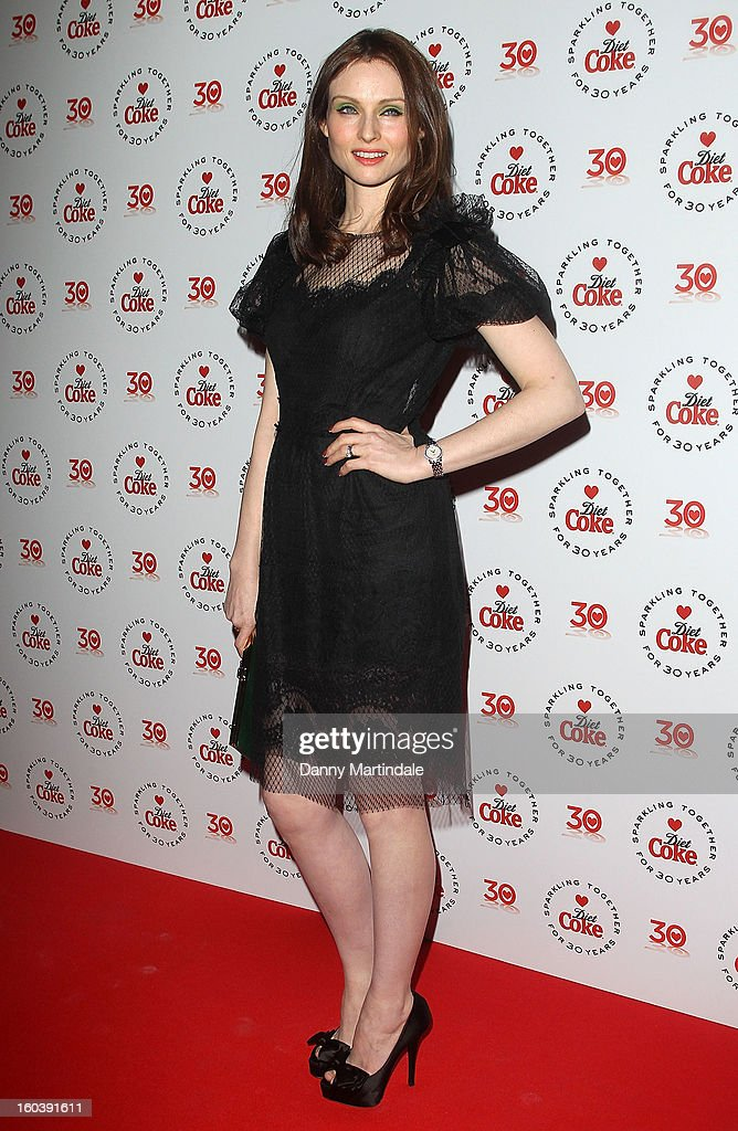 Sophie EllisBextor attends a party hosted by Diet Coke at Sketch on January 30 2013 in London England