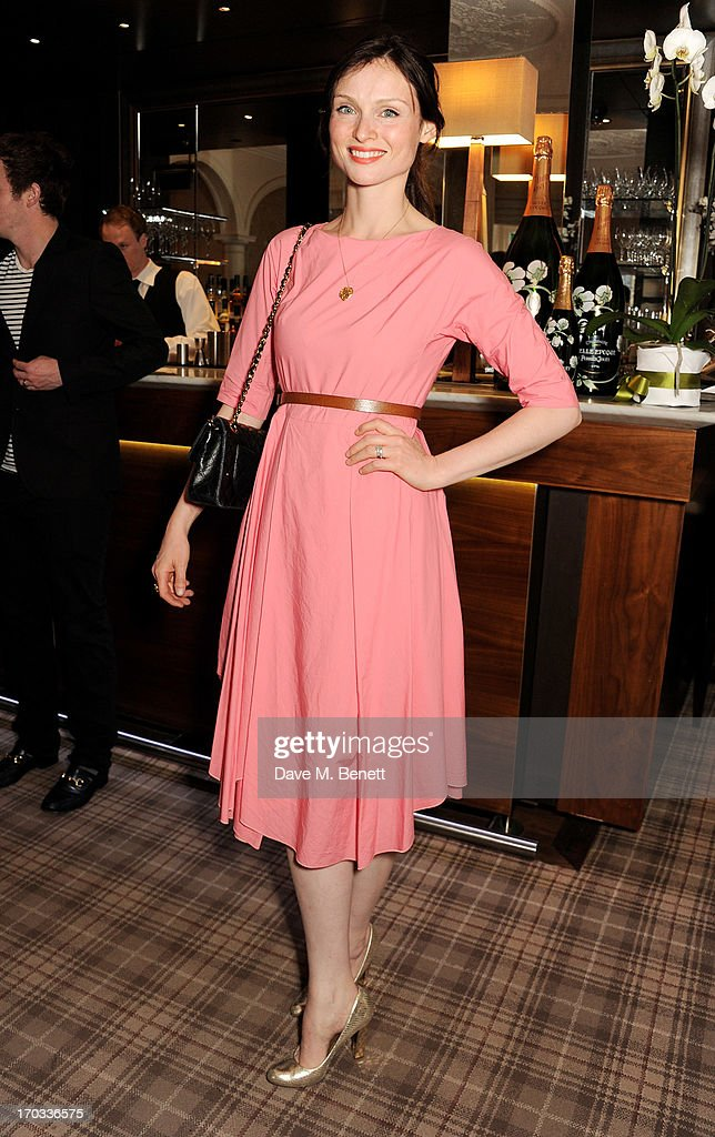 Sophie Ellis-Bextor attends a private dinner previewing the new 'Alex James Presents' Blue Monday cheese at The Cadogan Hotel on June 11, 2013 in London, England.