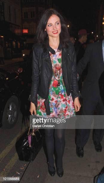 Sophie EllisBextor attends a record signing at GAY bar on May 5 2010 in London England