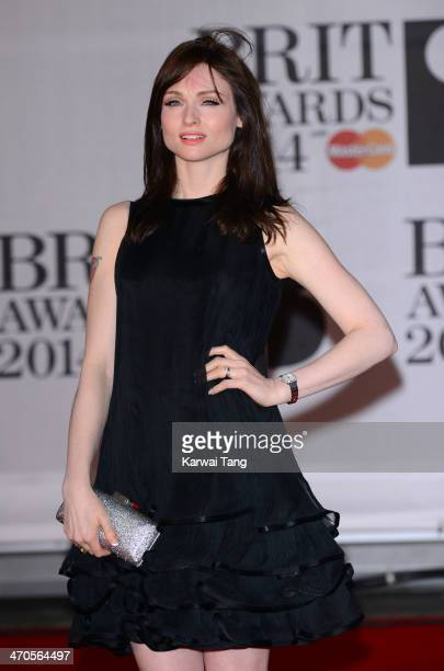 Sophie EllisBextor attends The BRIT Awards 2014 at 02 Arena on February 19 2014 in London England