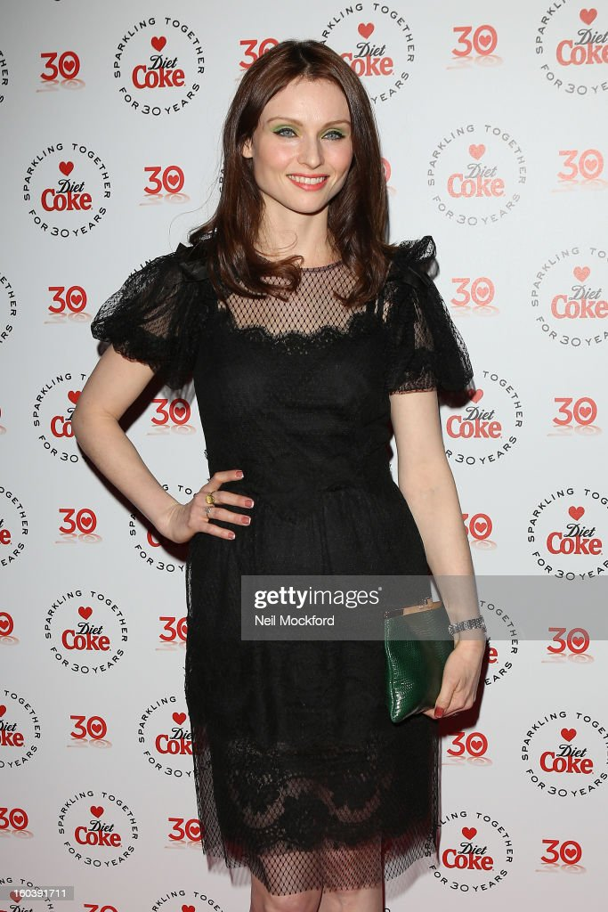 Sophie Ellis-Bextor attends the Diet Coke Private Party at Sketch on January 30, 2013 in London, England.