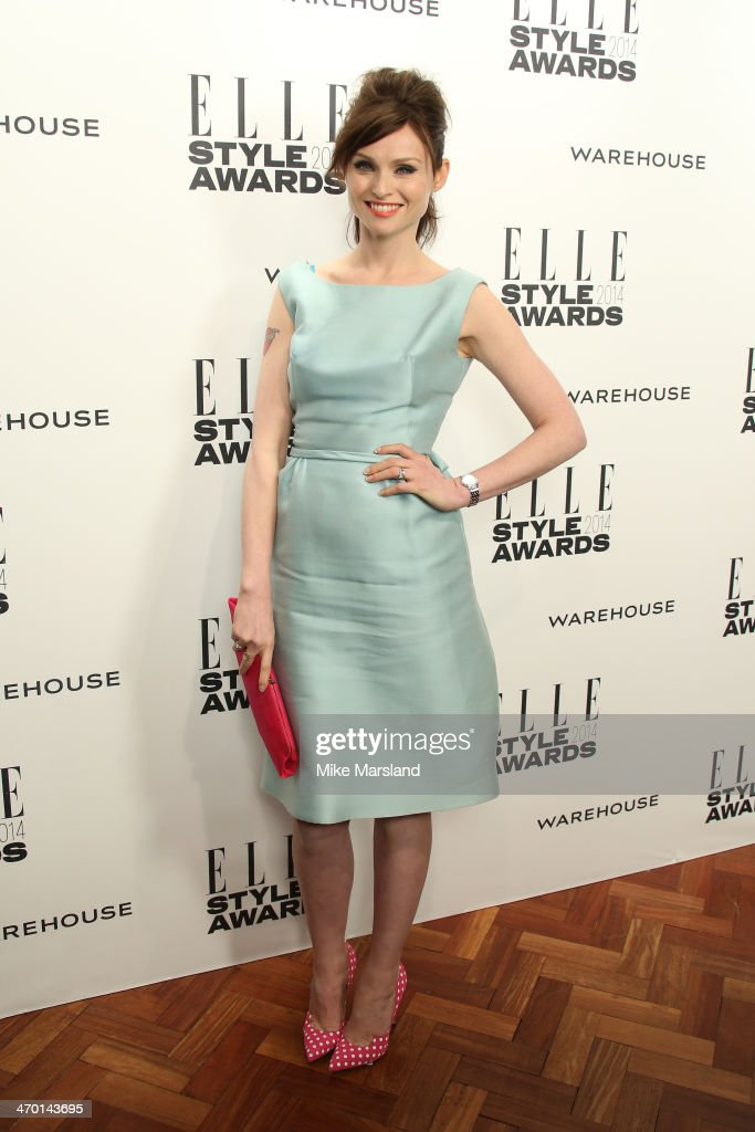 Sophie Ellis-Bextor attends the Elle Style Awards 2014 at one Embankment on February 18, 2014 in London, England.
