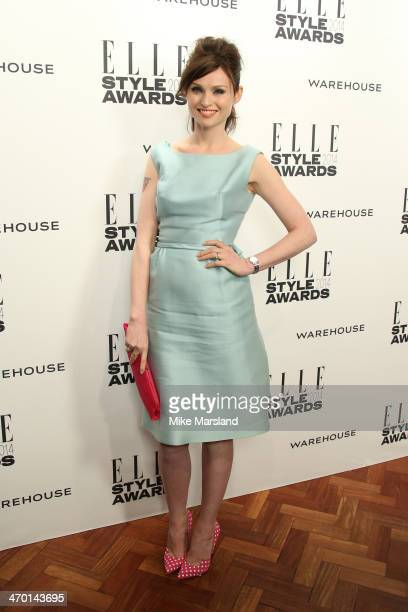 Sophie EllisBextor attends the Elle Style Awards 2014 at one Embankment on February 18 2014 in London England