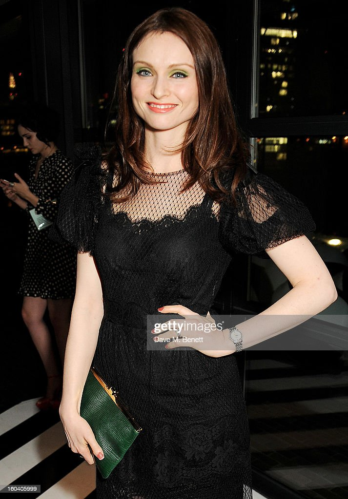 Sophie Ellis-Bextor attends the InStyle Best Of British Talent party in association with Lancome and Avenue 32 at Shoreditch House on January 30, 2013 in London, England.