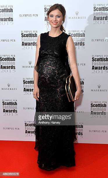 Sophie EllisBextor attends the Scottish Fashion Awards at Corinthia Hotel London on September 3 2015 in London England