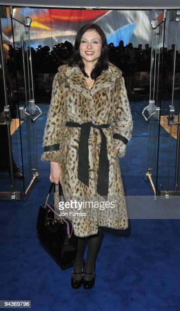 Sophie EllisBextor attends the World Premiere of 'Avatar' at Odeon Leicester Square on December 10 2009 in London England