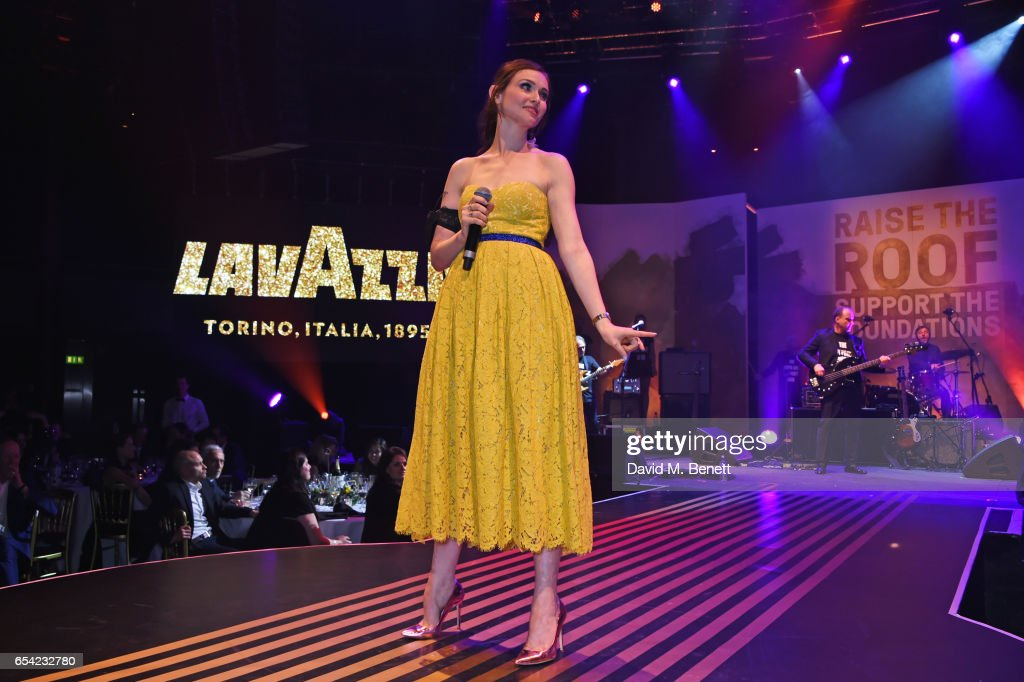 Sophie Ellis-Bextor performs at the Roundhouse Gala at The Roundhouse on March 16, 2017 in London, England.