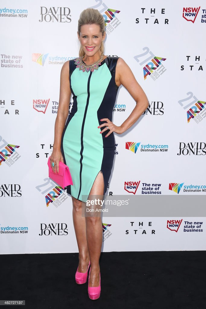 Sophie Falkiner arrives at the 27th Annual ARIA Awards 2013 at the Star on December 1, 2013 in Sydney, Australia.