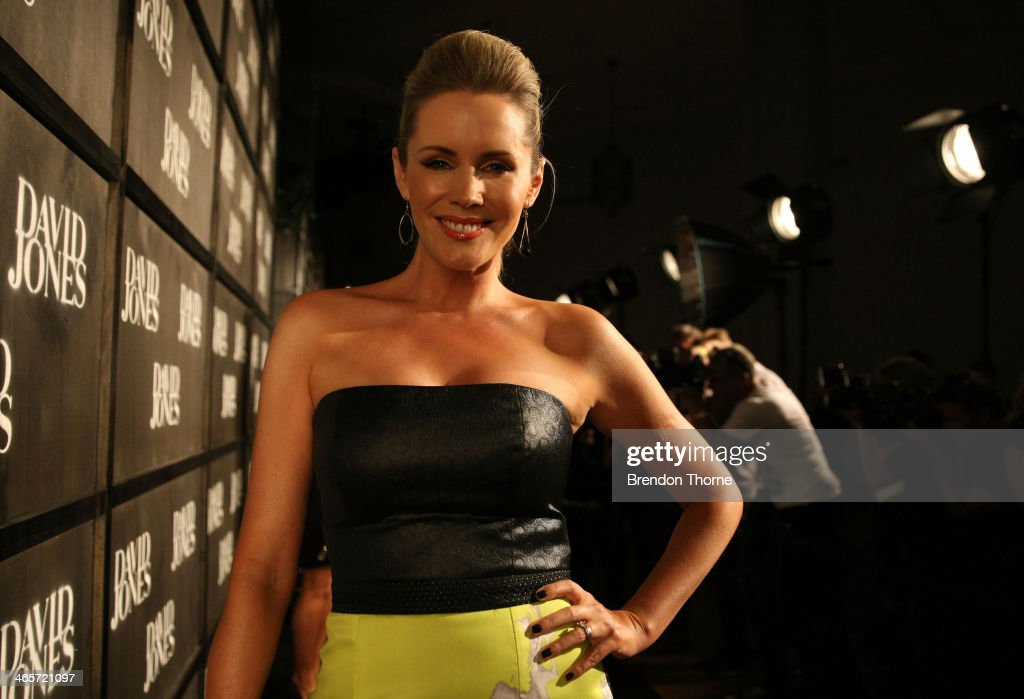 <a gi-track='captionPersonalityLinkClicked' href=/galleries/search?phrase=Sophie+Falkiner&family=editorial&specificpeople=634566 ng-click='$event.stopPropagation()'>Sophie Falkiner</a> arrives at the David Jones A/W 2014 Collection Launch at the David Jones Elizabeth Street Store on January 29, 2014 in Sydney, Australia.