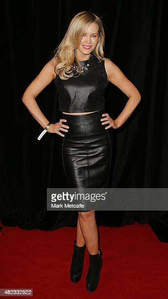 Sophie Faulkiner arrives at Nova's Red Room Global Tour at The Star on July 30 2015 in Sydney Australia