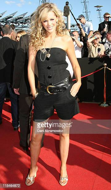 Sophie Faulkner during 2006 ARIA Awards Arrivals at Acer Arena Sydney Olympic Park in Sydney NSW Australia