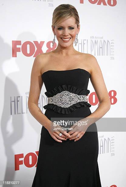Sophie Faulkner during 6th Annual Helpmann Awards at Lyric Theatre Star City in Sydney NSW Australia