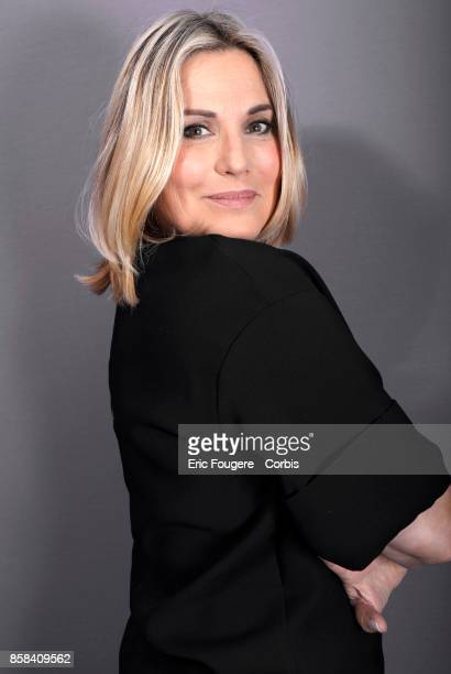 Sophie Favier poses during a portrait session in Paris France on