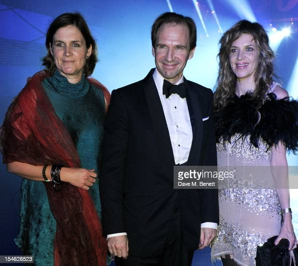 Sophie Fiennes Ralph Fiennes and Martha Fiennes attend an after party for the Royal World Premiere of 'Skyfall' at the Tate Modern on October 23 2012...