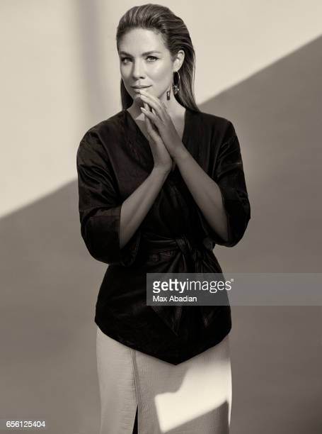 Sophie GregoireTrudeau wife of Canadian Prime Minister Justin Trudeau is photographed for Fashion Magazine on January 10 2017 in Ottawa Ontario ON...